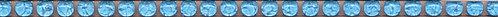 POD011 Карандаш Бисер голубой 20х0,6х11