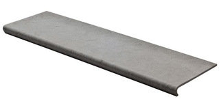 Керамогранит Riverstone Floor Ступень Grey Matt 32,5х120