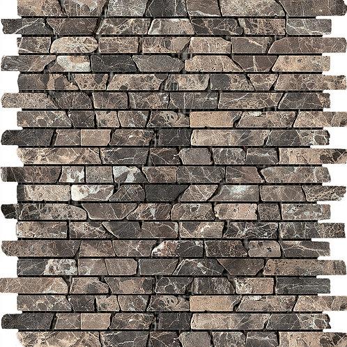 Мозаика Broken Emperador (305X305X7), натур. Мрамор