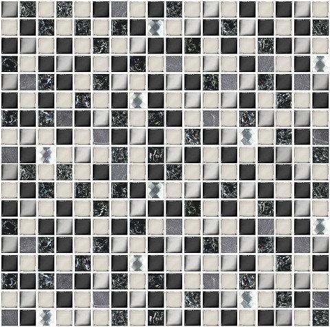 Мозаика 30*30 Vela Nero Xh156