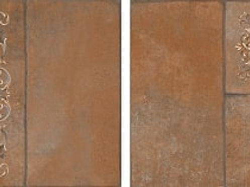 Керамогранит SG926400N Каменный остров коричневый декор 30х30х8