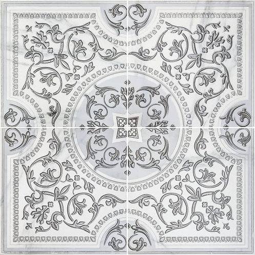 3609-0006 Бьянка Каррара Белый Панно 90Х90 (Компл 4 Шт)
