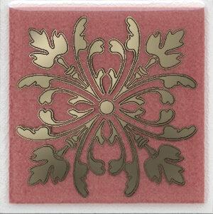 HGD\C252\5Вставка Клемансо розовый 4,9х4,9х6,9