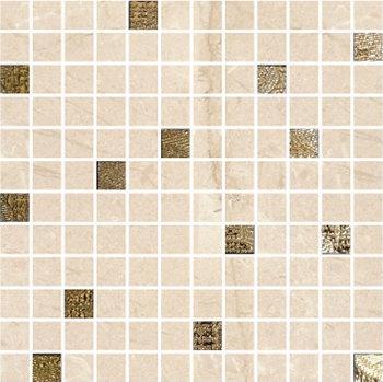 Мозаика ALBERONA Mosaico MARFIL-GOLD 30x30