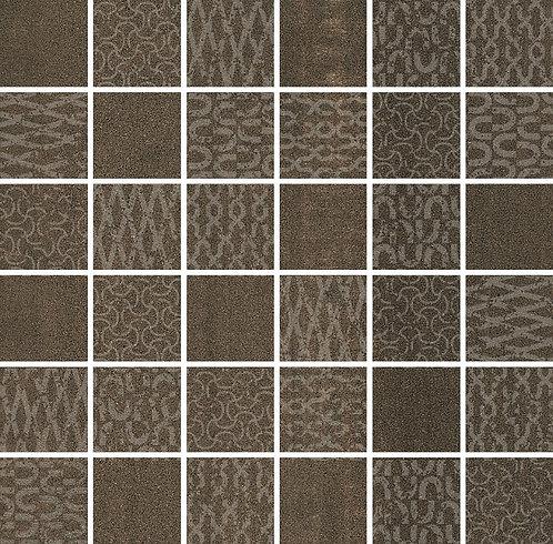 DD2013\MM Декор Про Дабл коричневый мозаичный 30х30х11