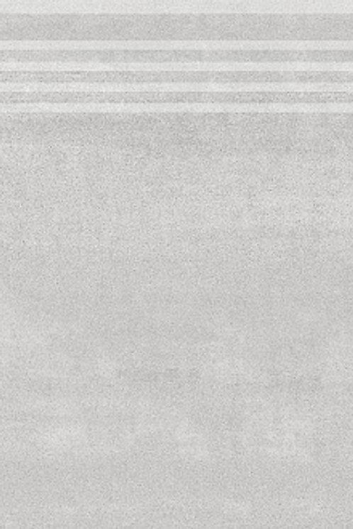 DD201200R\GR Ступень Про Дабл серый светлый обрезной 30х60х11