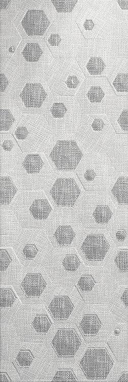 Настенная плитка HERMES Geo Decor Gris 30x90