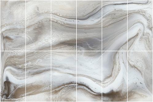 Керамогарнит Декор INK-CLOUD 300x450 (12x75x150)