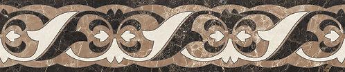 Бордюр Intarsia Lorenzo 300х60 бежевый