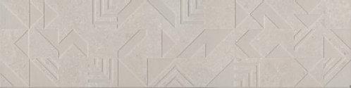 SBD008\DD3186 Декор Про Матрикс белый геометрия 15x60x11