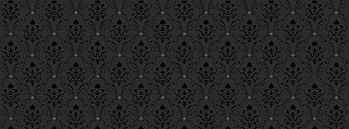 Керамическая плитка 15002 Уайтхолл черный 15х40х8