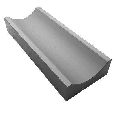 Водосточный желоб 500х160х50 мм серый