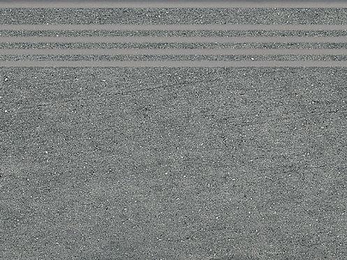 SG212500R\GR Ступень Ньюкасл серый темный обрезной 30х60х9