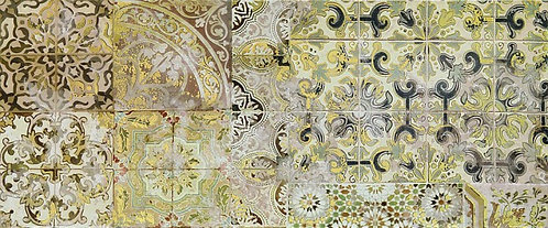 Декор Patchwork beige decor 02 250х600