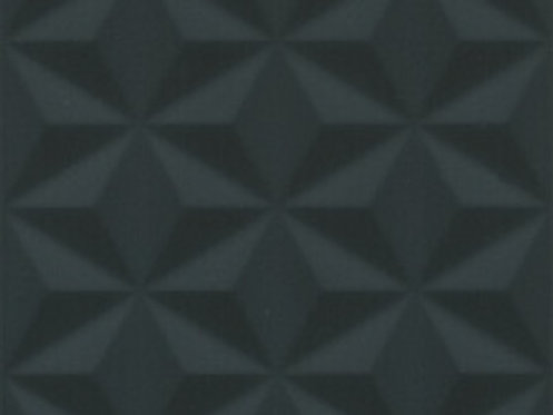 Керамическая плитка 12121R Диагональ черный структура обрезной 25x75x11