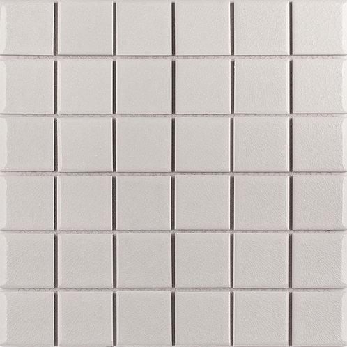 Керамическая мозаика 48x48 Crackle White Glossy (LWWB81531) 306х306х6
