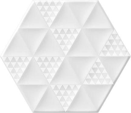 Керамогранит MALMO Hexa White 23,2x26,7