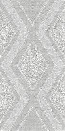 Декор 31,5*63 Illusio Grey Geometry