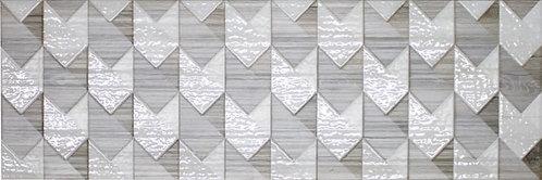 1664-0169 Альбервуд Декор Настенный 200*600 Геометрия