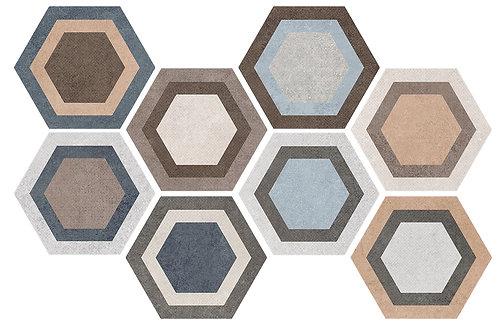 Керамогранит TRIPOLI Hexa 23,2x26,7
