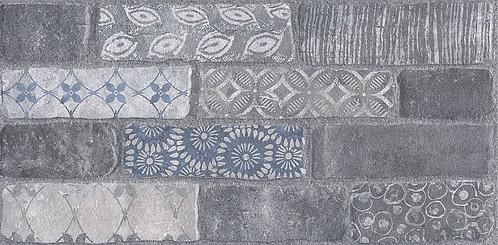 Керамогранит SG250900R Кампалто серый декорированный обрезной 30х60х9