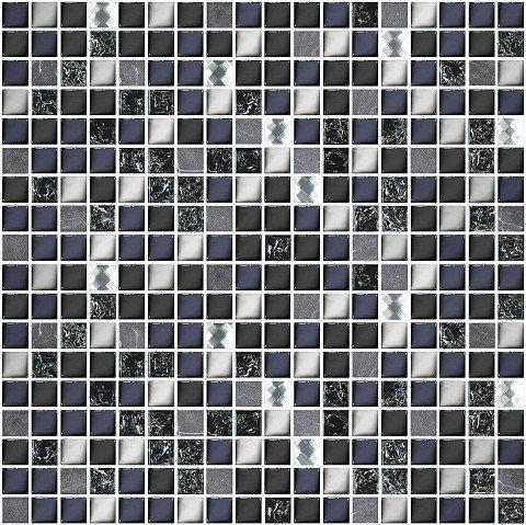 Мозаика 30*30 Дефиле Неро Xh156-420Cp
