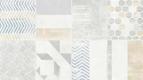 Керамогранит ANTIBES TROYES Decor Blanco 33,3x60