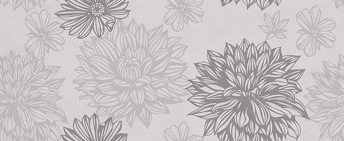 Стена Flower Osaka 200х500 серый