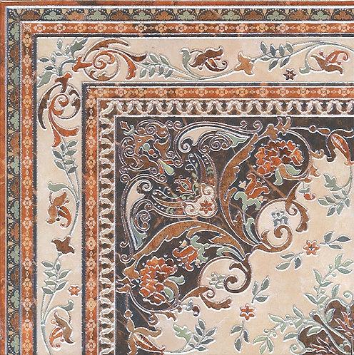 HGD\A174\SG1550L Декор Мраморный дворец ковёр угол лаппатированный 40,2х40,2х8