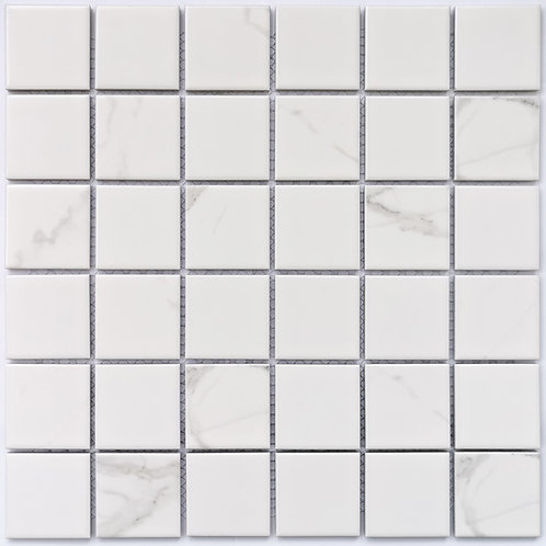 Мозаика Calacatta-48 306х306 чип: 48х48х6