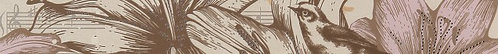 Бордюр Allegro beige border 01 600х65