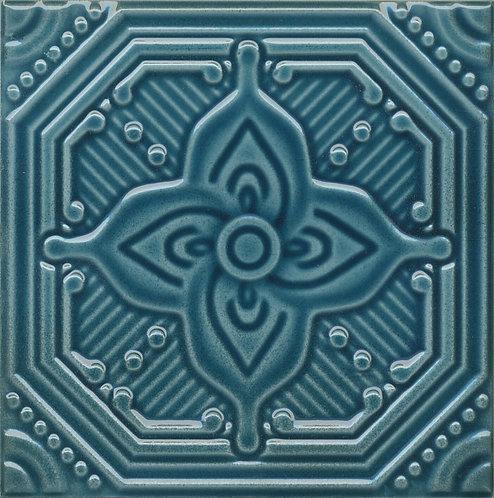 SSA002 Декор Салинас синий 15x15x6,9