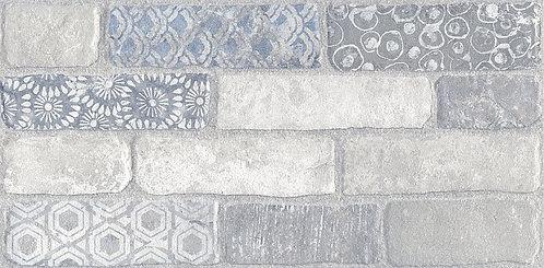 Керамогранит SG250800R Кампалто белый декорированный обрезной 30х60х9