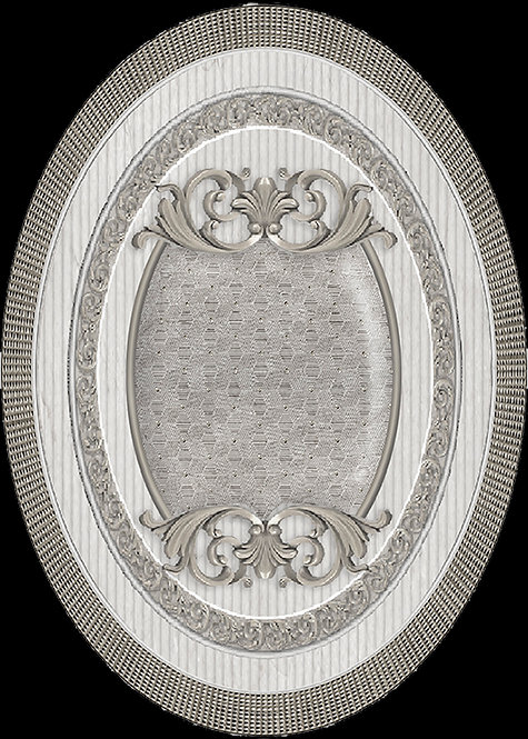Декор VENECIA Plata-Gris Medallon 14x10