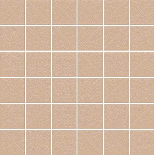 Керамическая плитка 21050 Ла-Виллет беж темный 30,1х30,1х6,9