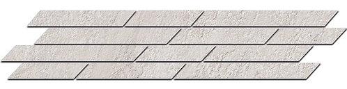 SG144\003 Бордюр Гренель серый светлый мозаичный 46,8х9,8