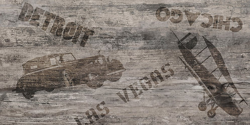 Декор/Пол Detroit Vesta 307х607 коричневый