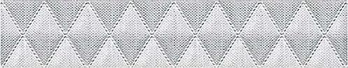 Бордюр 31.5*6.2 Illusio Grey Geometry