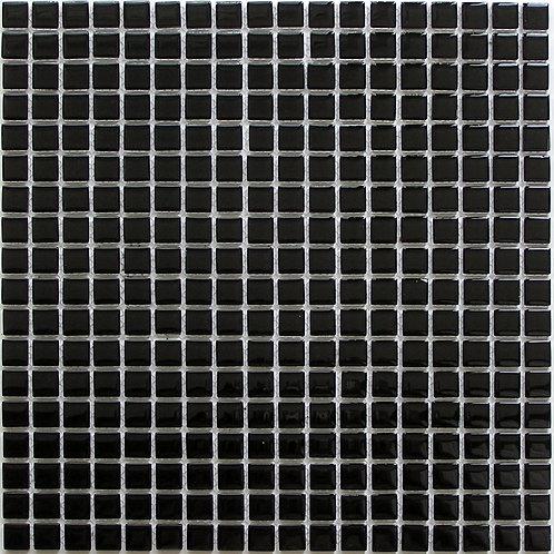 Мозаика Super black 300х300 чип 4х15х15