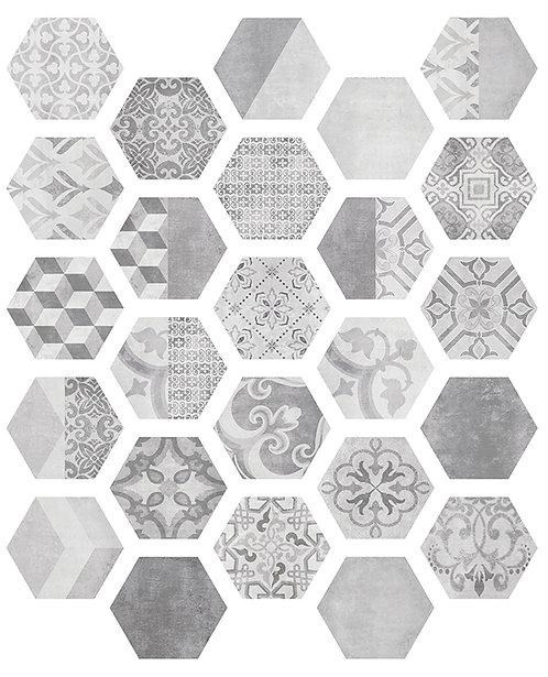 Керамогранит NUUK Hexa 23,2x26,7