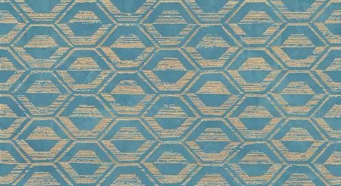Декор настенный Thesis Pattern Light Blue 30,5x56