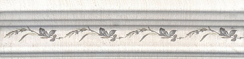 BLB028 Бордюр Багет Кантри Шик белый декор 20x5