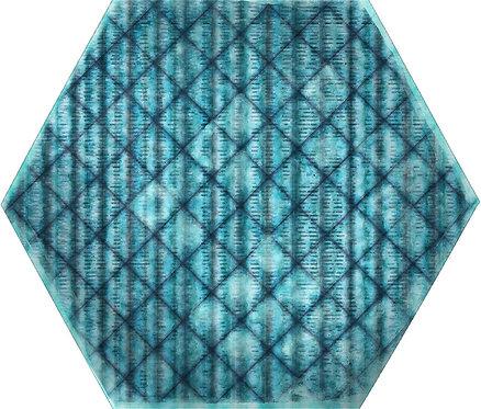 Керамогранит Tribu Blue Matt Hexa 23,2x26,7
