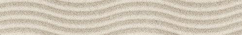 Бордюр Wave HD Summer Stone 400х60 бежевый