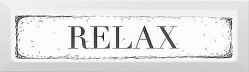 NT\B27\2882 Декор Relax чёрный 8,5х28,5