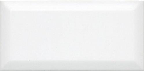 Керамическая плитка 19040 Бланше белый грань 20х9,9