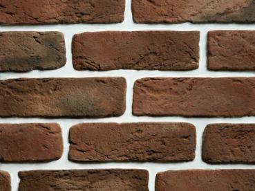 Кирпич Камнелит cтарый (коричневый) 21х6,5х1,2