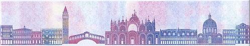 HGD\A199\880 Бордюр Карнавал в Венеции короткий 30х5,7