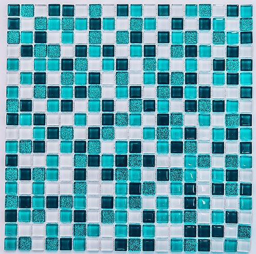 Мозаика Glossy 300х300 чип 15х15х4