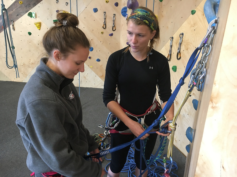 Spreading the love of top-belaying